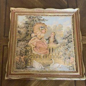 # 859 Vintage Tapestry paintings.